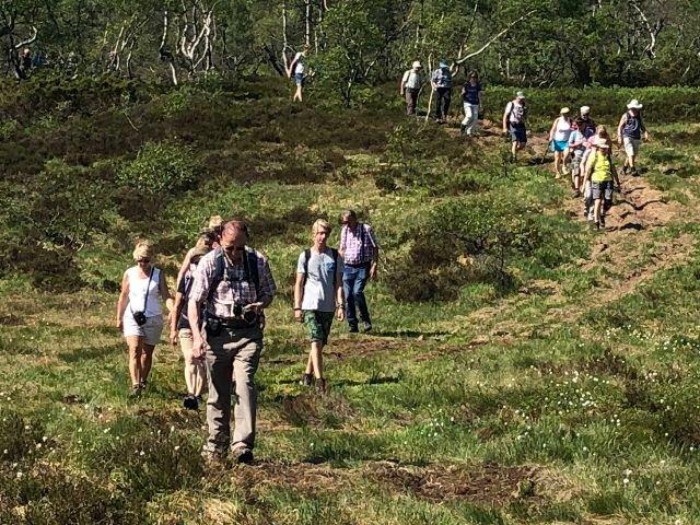 Noorwegen - Wandeling omgeving Eikerapen