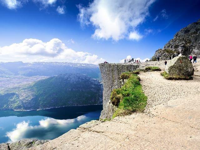 Noorwegen - Preikestolen