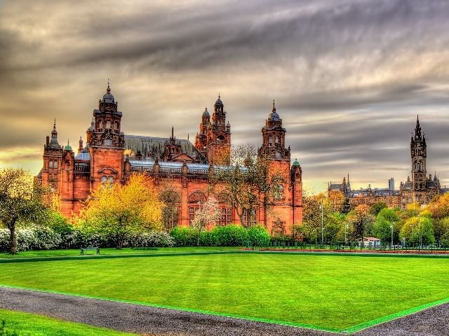 Schotland - Glasgow - Kelvingrove Museum and Art