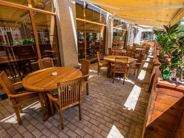 Akhaltsikhe - Hotel Lomsia*** - terras