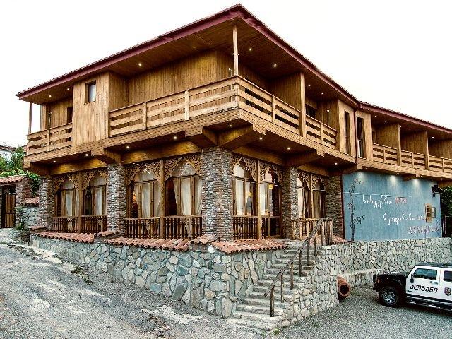 Telavi - Hotel Zuzumbo - hotelaanzicht