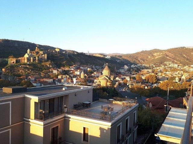 Tbilisi - Hotel KMM**** - dakterras