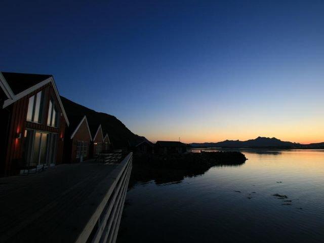Noorwegen -Lofoten - Leknes - Statles Rorbu Senter
