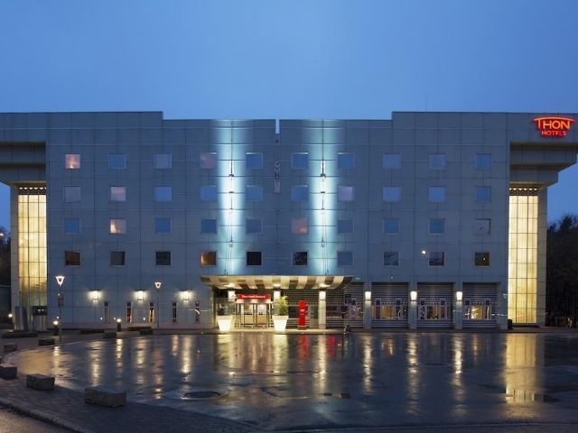 Noorwegen - omgeving Oslo-Sandvika - Thon Hotel Oslofjord