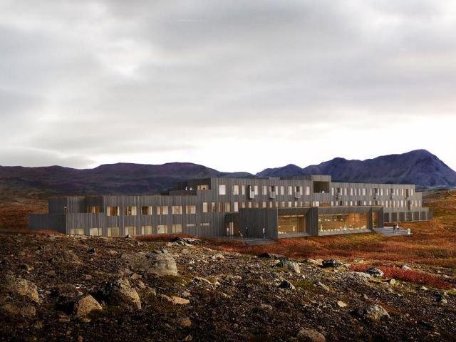 IJsland - Myvatn - Fosshotel Mývatn