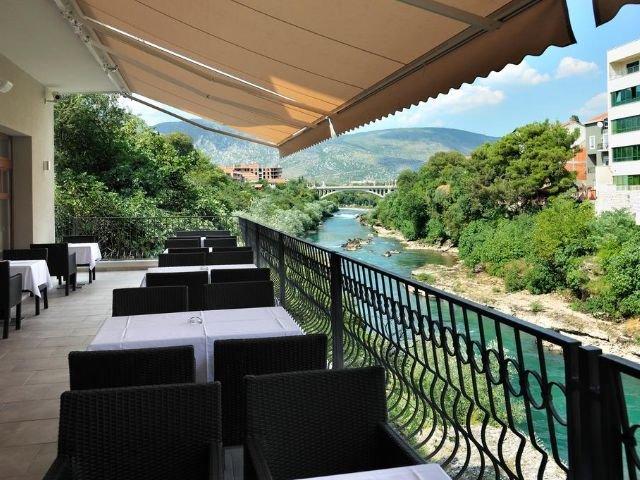 Mostar - Hotel Bristol **** - terras