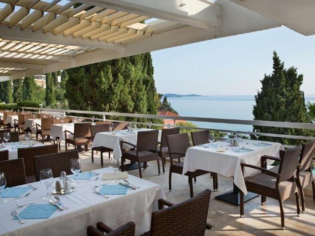 Mlini - Hotel Astarea *** - terras