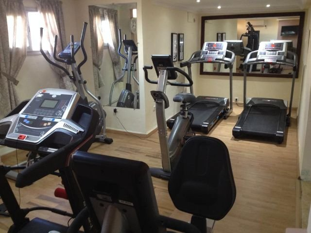 Helnan Chellah Hotel - fitnesscentrum