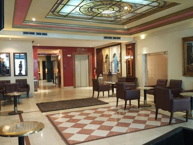 Helnan Chellah Hotel - lounge