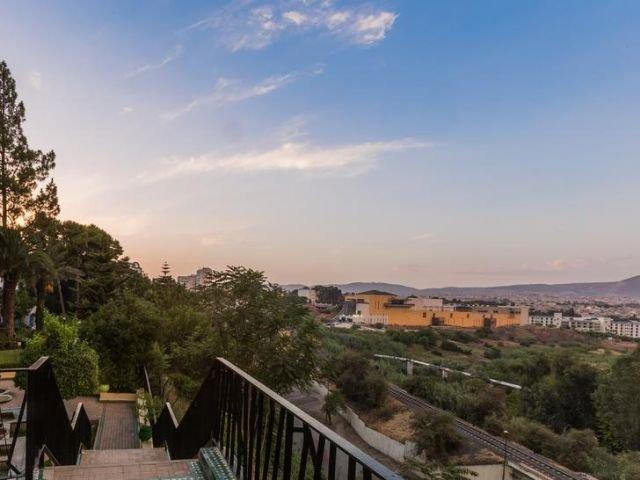 Hotel Menzeh Zalagh - uitzicht