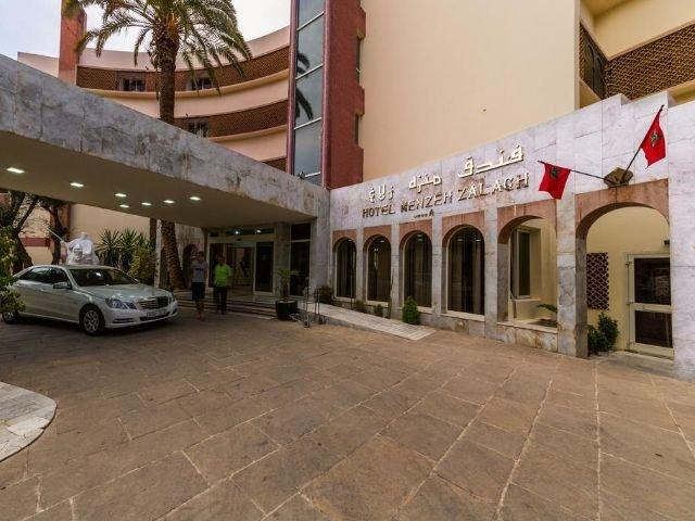 Hotel Menzeh Zalagh - vooraanzicht