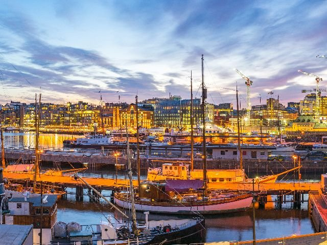 Noorwegen - Oslo - Byrggen kade