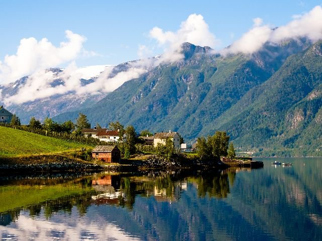 Noorwegen - Hardangerfjord - Omgeving Odda