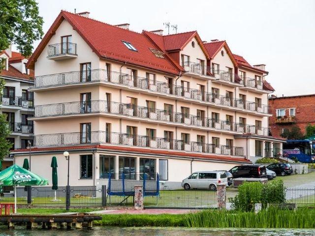 Mragowo - Hotel Huszcza *** - hotelaanzicht