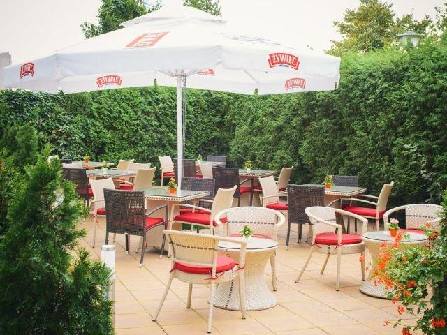 Krakau - Hotel Vienna House Easy Chopin*** - terras