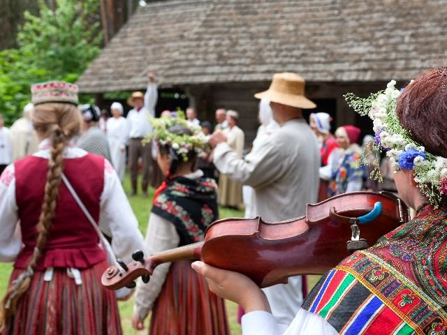 Letland - traditionele kleding
