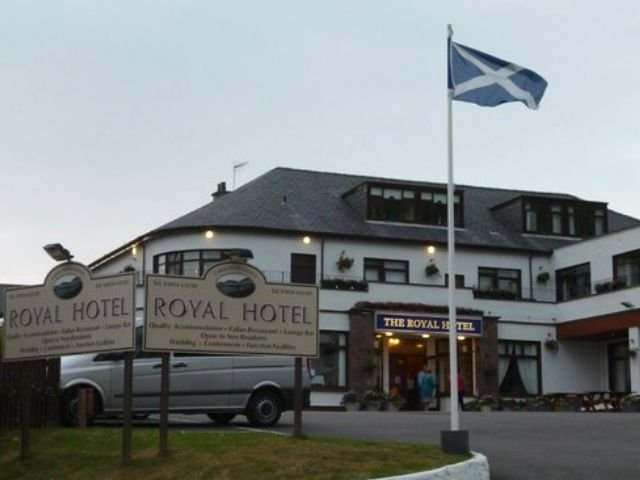 Groot-Brittannië - Schotland - Ullapool - The Royal Hotel