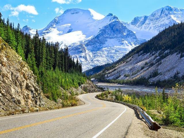 Canada - Banff N.P. - autoweg