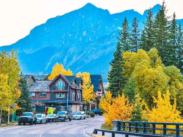 Canada - Canmore - autoweg