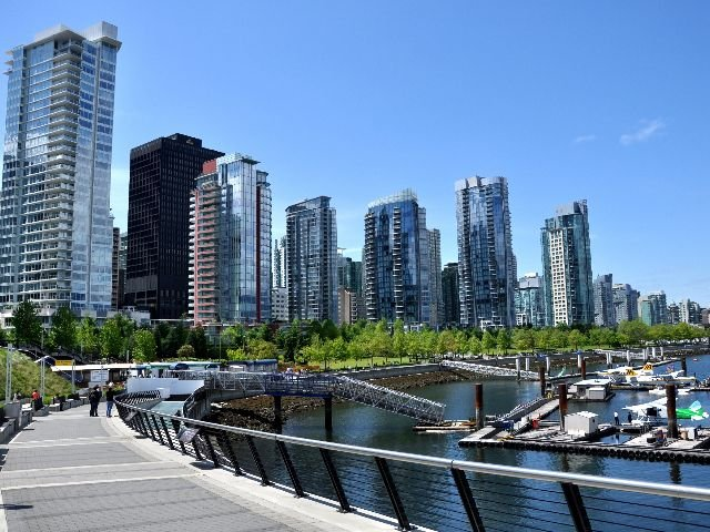 Canada - Vancouver - wolkenkrabbers