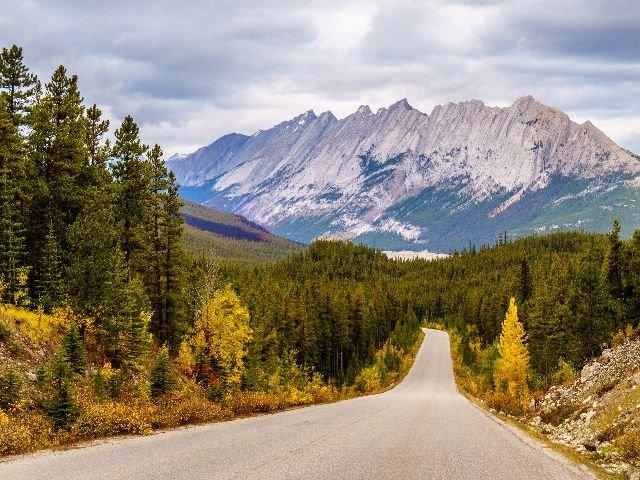 Canada - Jasper N.P. - autoweg