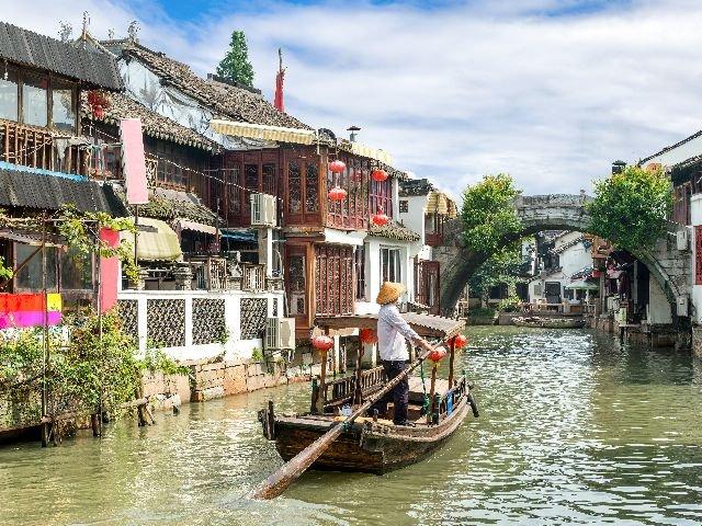 China - Suzhou - grachten