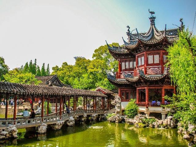China - Shanghai - yu yuan tea garden