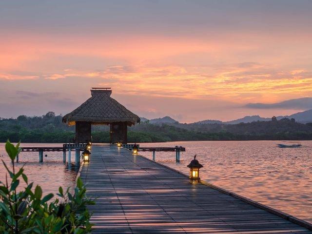 Bali - Menjangan - zonsondergang