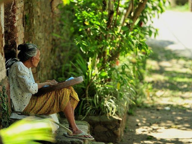 Bali - Tenganan - dame