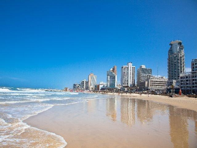 Israël - Tel Aviv - strand