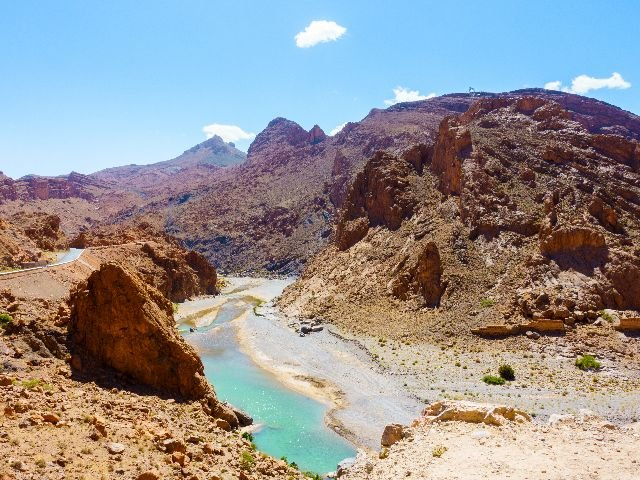 Marokko - Ziz rivier
