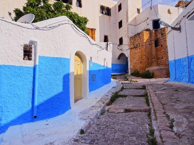 Marokko - Rabat - Kasba van de Oudaya's