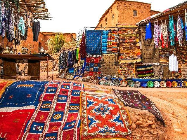 Marokko - Ouarzazate - souvenirwinkel