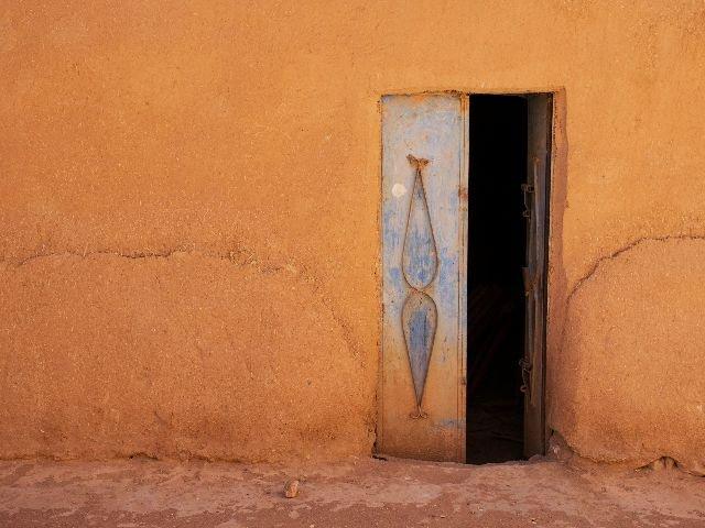 Marokko - Tinghir - traditioneel huis
