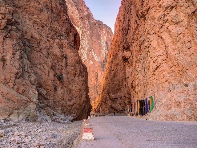Marokko  - Todgha Gorge