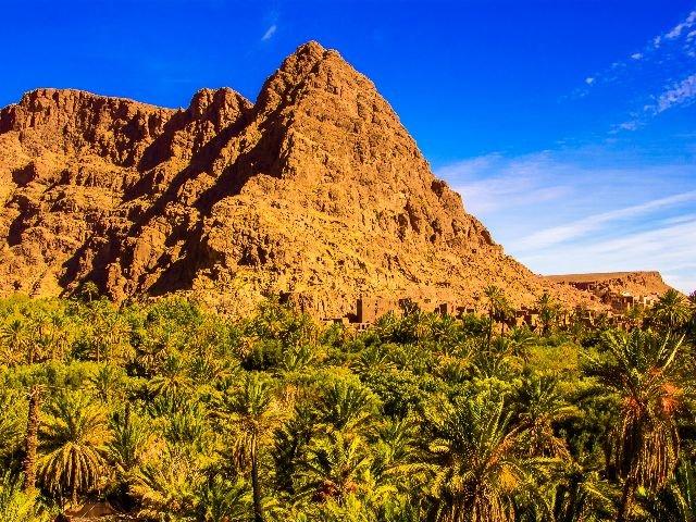Marokko  - Tinghir - oase