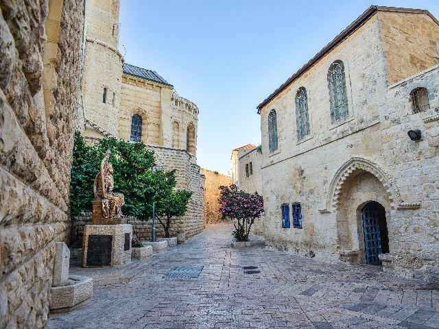 Israël - Jeruzalem - straat
