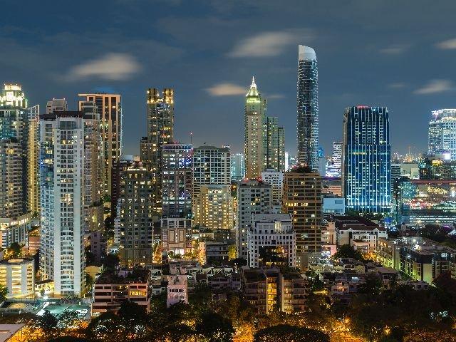 Thailand - Bangkok - wolkenkrabbers