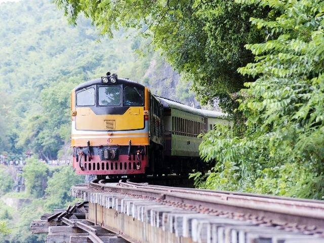 Thailand - Kanchanaburi - trein