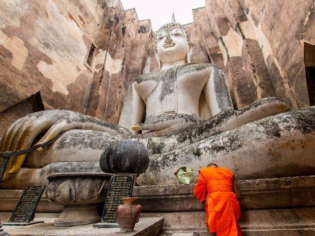 Thailand - Sukhothai - Wat Si Chum tempel