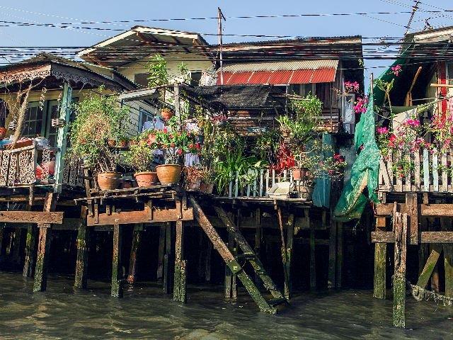 Thailand - Bangkok - huisjes