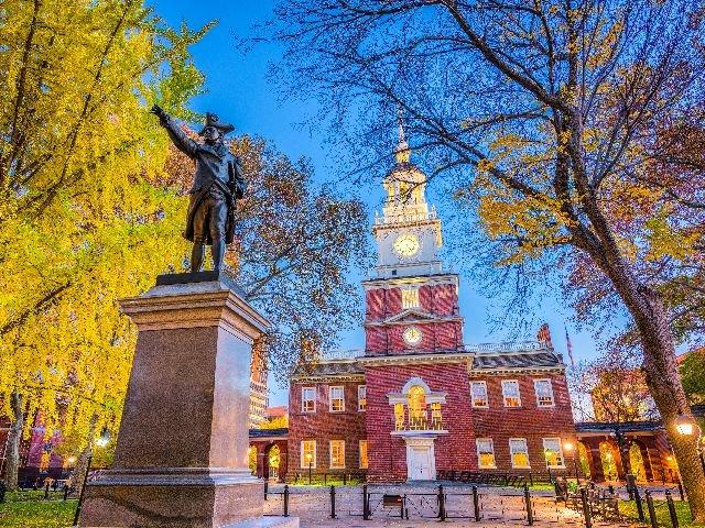 USA - Philadelphia - Independence Hall