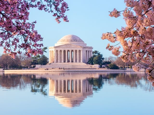USA - Washington D.C. - Jefferson Memorial