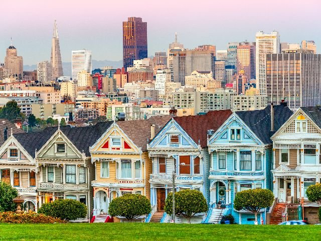USA - San Francisco - The Painted Ladies