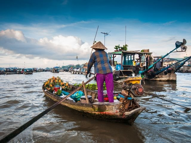 Vietnam - Can Tho - Cai Rang markt