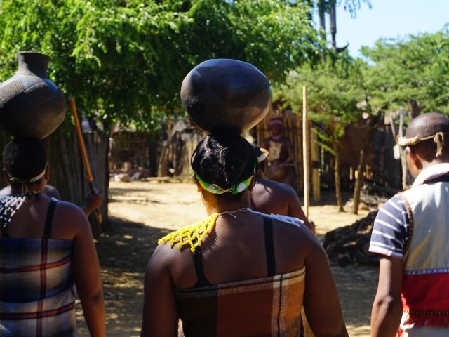 Zuid-Afrika - Zulu stam