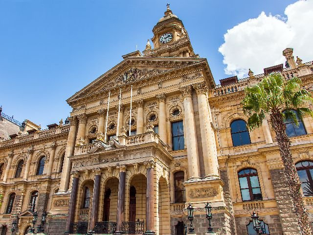 Zuid-Afrika - Kaapstad - City Hall