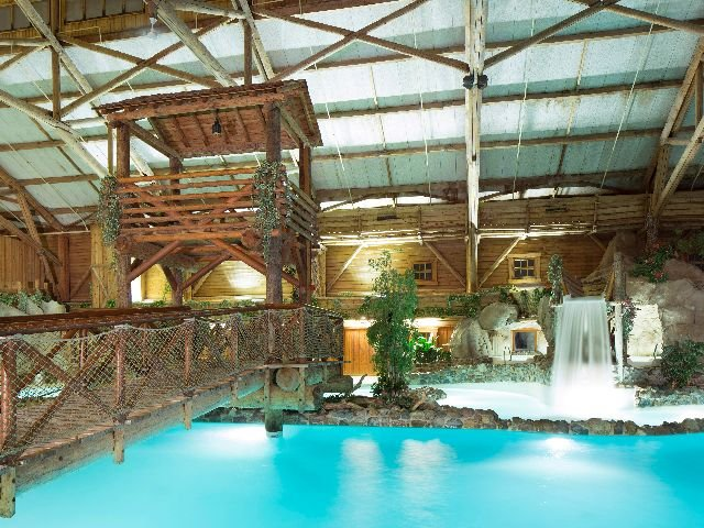 Disneyland Paris - Disney's Davy Crockett Ranch - zwembad