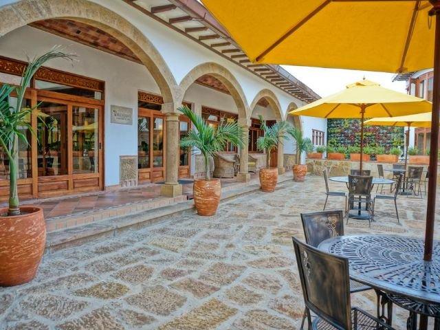 Hotel Campanario de la Villa - terras