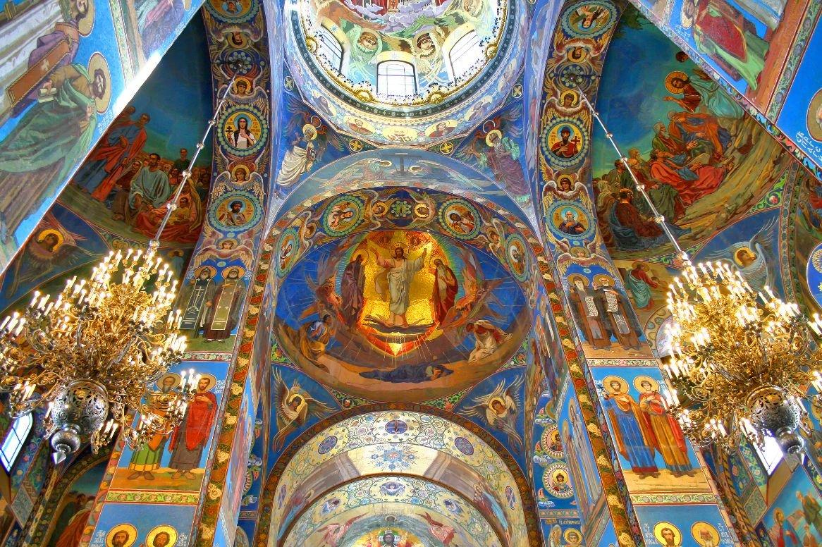 Sint-Petersburg - Kerk van de Verlosser op het Bloed